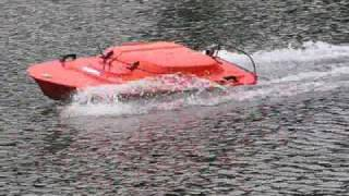 Oceanscience Q-Boat 1800P - At the Speed Trials