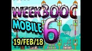 Angry Birds Friends Tournament Level 5 Week 300-C  MOBILE Highscore POWER-UP walkthrough
