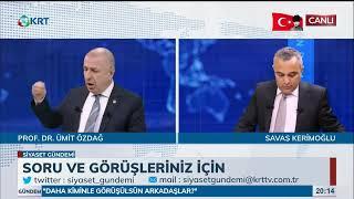 Siyaset Gündemi Prof Dr Ümit ÖzdağEngin Özkoç 23 Nisan 2019 KRT TV