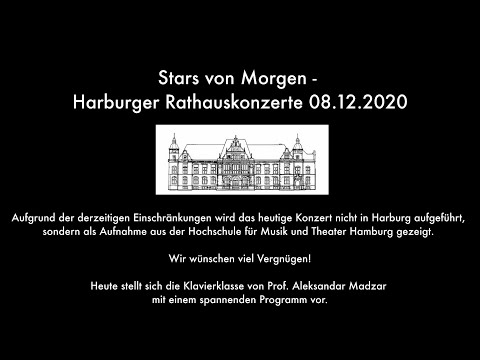 Stars von Morgen - Harburger Rathauskonzerte 08.12.2020
