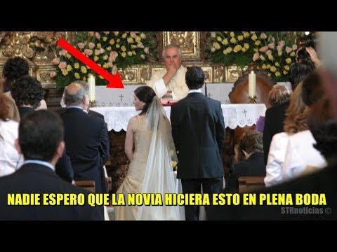 Despu�s de que la novia descubriera que su novio fue infiel, hizo la venganza m�s �pica en el altar.