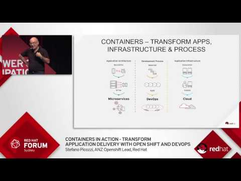 Highlights from Red Hat Forum Sydney 2016: Stefano Picozz