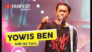 [HD] Yowis Ben - Gak Iso Turu (Live at YOUTUBE FANFEST SHOWCASE Yogyakara 2018)