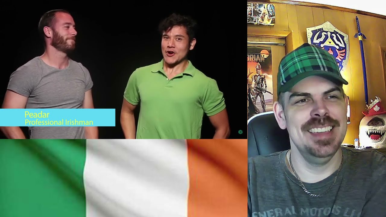 Geography Now! Ireland REACTION