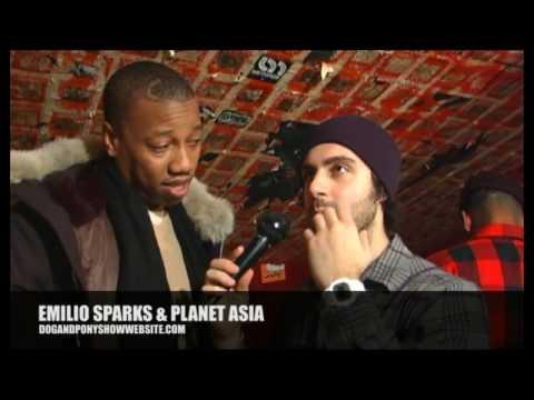 Emilio Sparks interviews Planet Asia
