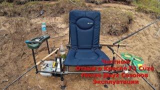 Крісло для Риболовлі F2 Cuzo Method Чесний Відгук (Після Двох Сезонів Експлуатації) - Відео