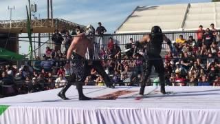 Pentagon Dark vs. Mil Muertes - Lucha Underground En Vivo! - Phoenix, AZ - 10/23/16