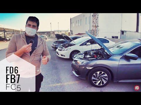 Son 3 Nesil Honda Civic Karşılaştırma | FD6-FB7-FC5 | Otomobil Günlüklerim
