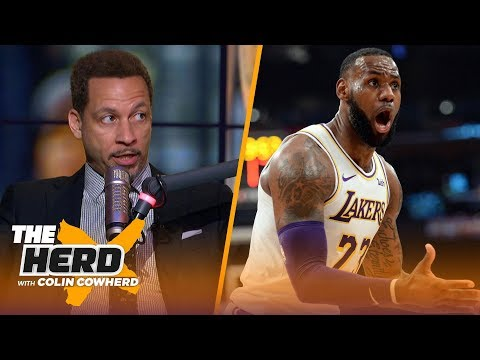 Chris Broussard on why Luke Walton's in a 'difficult position' with the Lakers | NBA | THE HERD