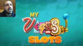 MYVEGAS SLOTS Vegas Casino Slot Machine Games Free Mobile Game Android Ios Gameplay Youtube YT Video