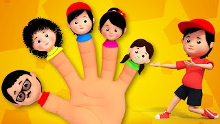 Finger Family Nursery Rhymes From  Kids Tv