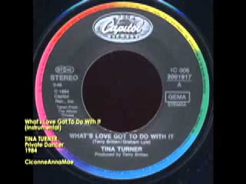 TINA TURNER What's Love Got To Do With It Instrumental YouTube ...