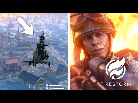 FIRESTORM GAMEPLAY - FIRST LOOK! | Battlefield 5 Firestorm Update (Chapter 3 Patch Notes) thumbnail