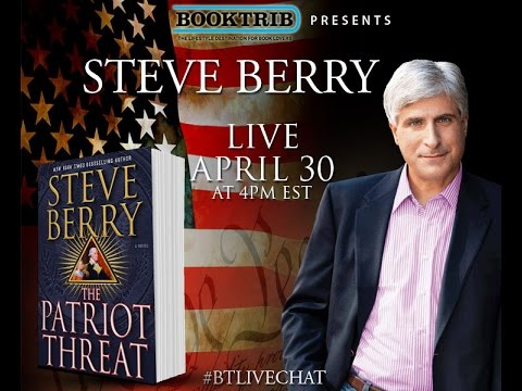 Interview With Steve Berry, Author Of 'The Patriot Threat' | The Lincoln Myth | The Bishop's Pawn