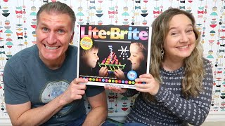 Lite-Brite | New and Improved Model of a Classic 80's Toy | Unboxing & Review