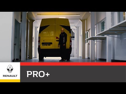 Renault Pro+ Vans support Renault Sport Formula One™ Team in the first part of the Triple Header