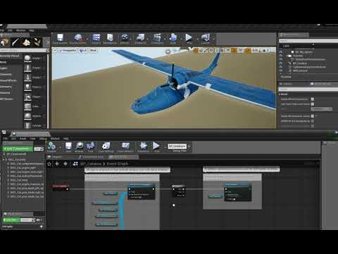 Catalina Pawn Class Blueprint Unreal 4 (screen Capture Messes With Spinning) - Clikfoot