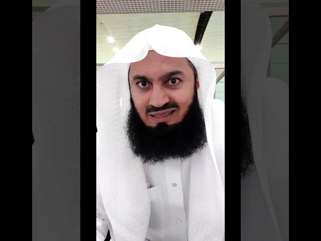 Is Mufti Menk a sellout?