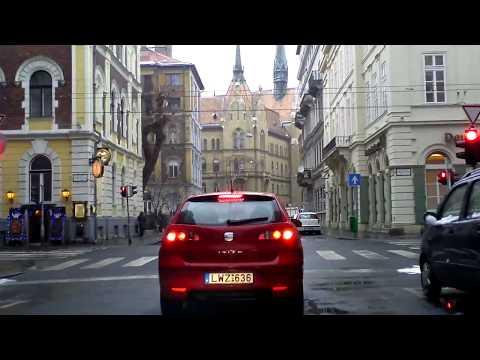 Budapest dashcam: Angyalföld-Terézváros-Lipótváros