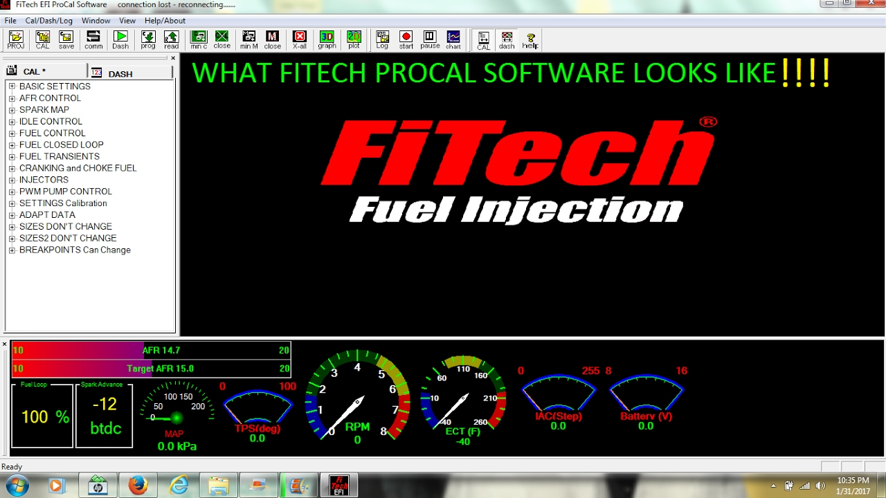 Fitech Efi Procal Software!!