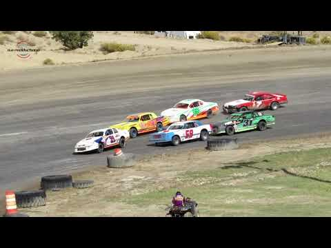 Desert Thunder Raceway IMCA Stock Car Main Event 9/30/18