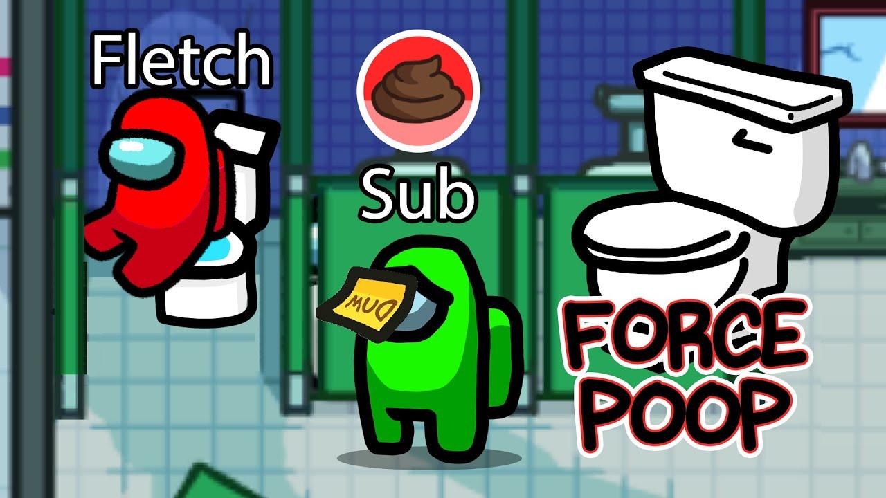 Download Among Us NEW POOP Sabotage! (Toilet Mod)