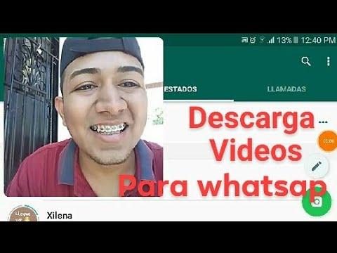 Como DESCARGAR VIDEOS PARA ESTADOS de whAtsApp