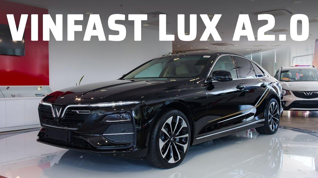 Khám phá chiếc xe VinFast LUX A2.0 bản cao cấp