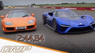 Elektro-Supersportwagen NIO EP9 - GRIP - Folge 408 - RTL2
