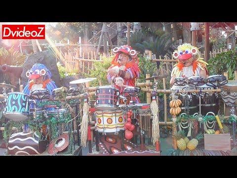 東京ディズニーランドドラム演奏アトモスフィアショージャングリズム