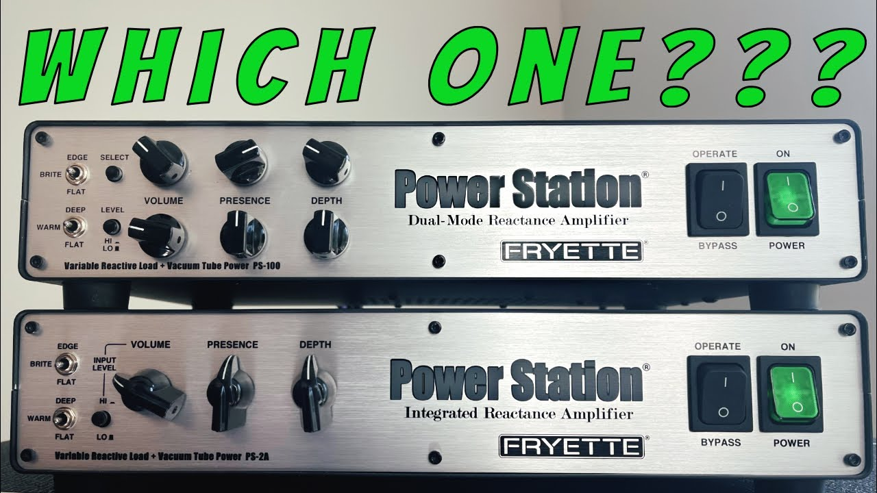 Fryette PS-2 or PS-100 - Which One Do I Need?