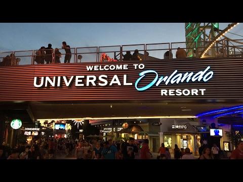 Universal Orlando Citywalk Live Stream 4-1-17