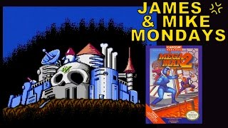 Mega Man 2 (NES Video Game) Part 2 - James & Mike Mondays