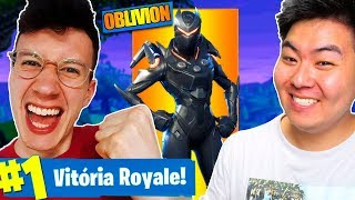 I BOUGHT THE LEGENDARY SKIN * OBLIVION AND WE WON! FT. SHARSHOCK! -Fortnite Battle Royale