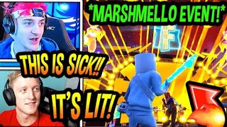 Marshmallow Holds First Ever Fortnite Concert Live at Pleasant Park(Best Fortnite Event)