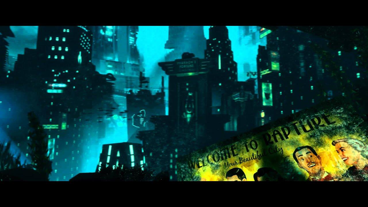 Bioshock - Rapture Revisted - 21:9 aspect ratio [Live Wallpaper] - (1080p) - YouTube