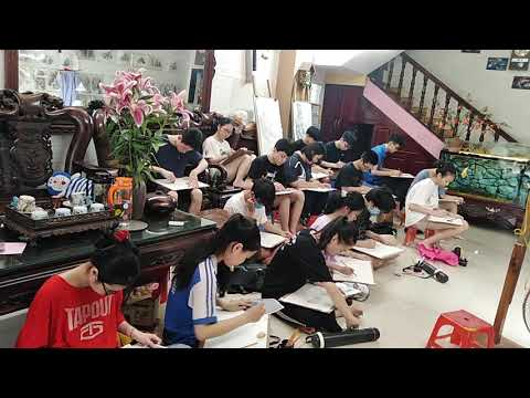 Luyện thi vẽ đại học Kiến Trúc Hà Nội. đại học xây dựng. khối H các trường mĩ thuật.