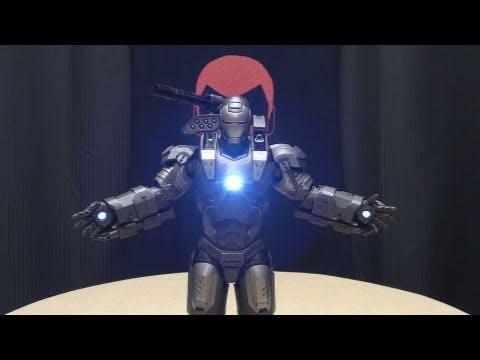 Hot Toys Iron Man 2 WAR MACHINE: EmGo's Marvel Comics Reviews N' Stuff