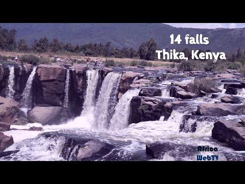 Natural African beauty 14 falls Thika, Kenya