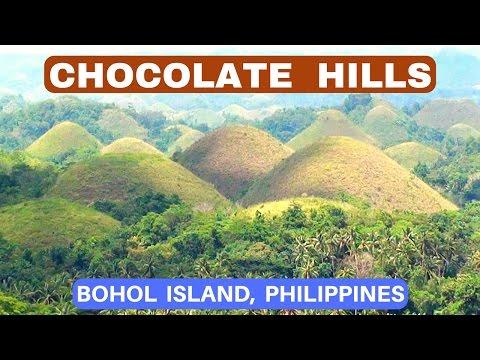 CHOCOLATE HILLS ✈ BOHOL PHILIPPINES