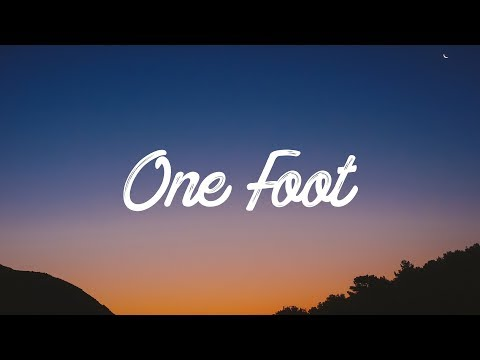 Mix - WALK THE MOON - One Foot (Lyrics / Lyrics Video)