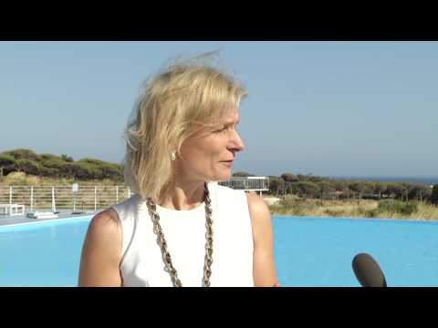 Our editor-in-chief Zanny Minton Beddoes at the third World Ocean Summit