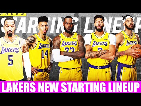 Lakers UNBEATABLE Starting Lineup after JR Smith Signing! PERFECT STARTER OPTIONS for LEBRON JAMES!