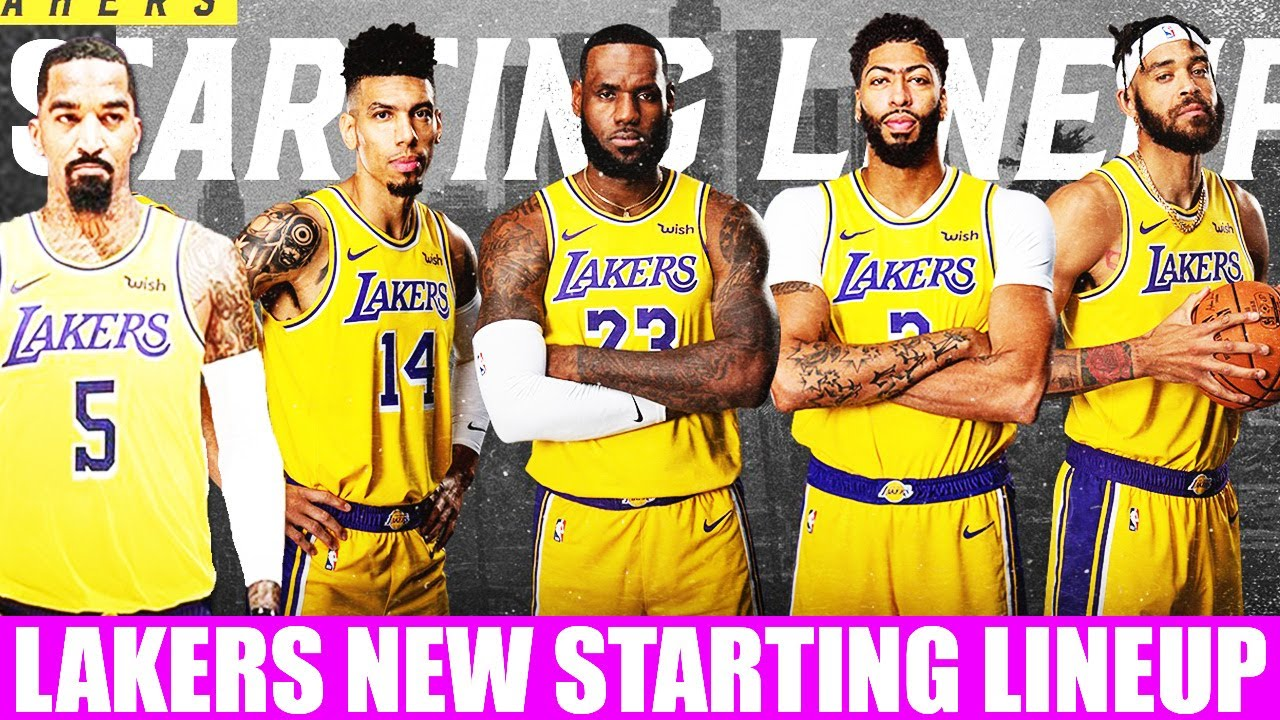 Lakers Unbeatable Starting Lineup After Jr Smith Signing Perfect Starter Options For Lebron James Youtube