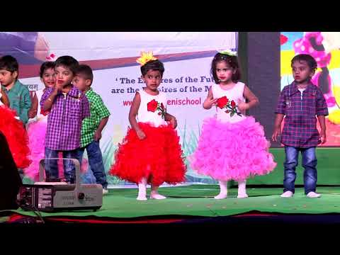 Together we are a family dance performance by tiny tots of Nursery
