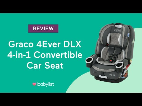 Graco 4Ever DLX 4-in-1 Convertible Car Seat Review - Babylist