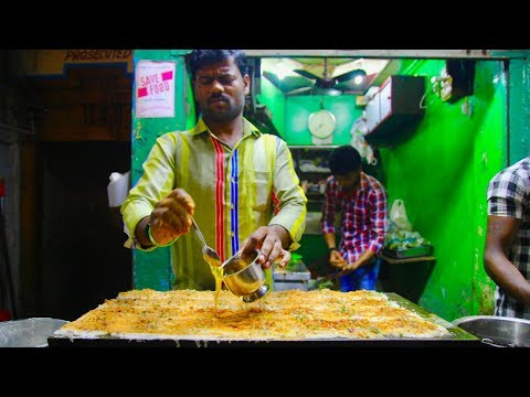 The ULTIMATE South Indian Street Food tour in CHENNAI | Huge Chettinad banana leaf meal