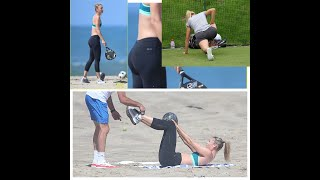 Maria Sharapova Training And Workout 2019 - Beautiful Tennis Star