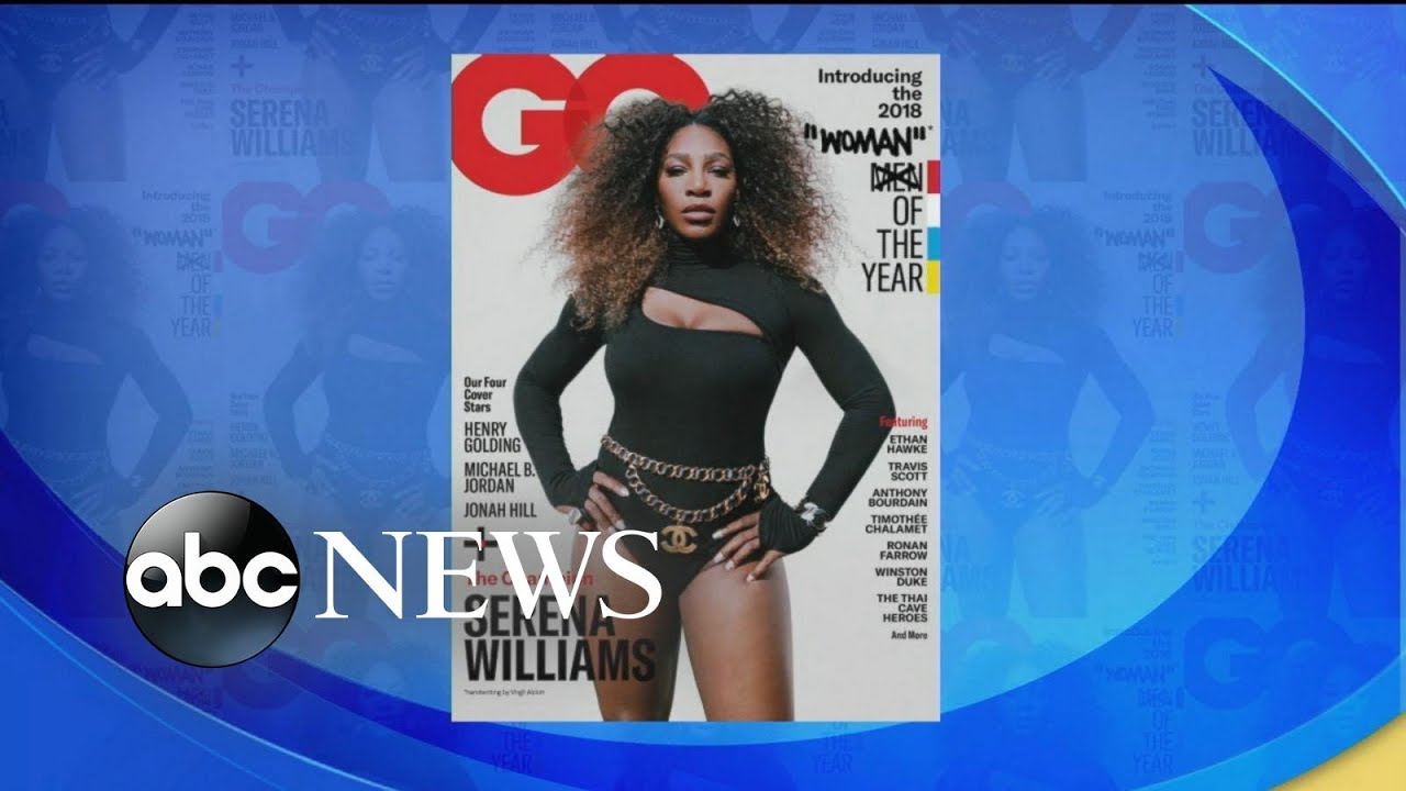 Why Serena Williams' 'woman' of the year GQ cover is drawing controversy