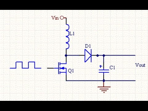 Simple Circuit Diagram 1990 Ford F250 Radio Wiring Very 5v To 65v Dc Boost Converter - Youtube
